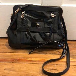BLACK On the outside Kate spade shoulder bag